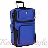 Комплект чемодан и сумка Bonro Best средний синий (10080602), фото 2