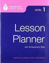 Foundations Reading Library 1 Lesson Planner