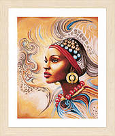 """Набор для вышивки крестом LanArte Mother Africa """"Мать Африка"""""""