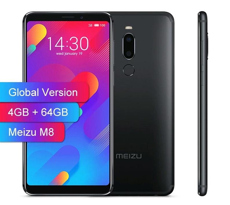 "Смартфон Meizu M8 Black 4/64GB 5.7"" 12+5Мп Global Version НОВИНКА!!! ОРИГИНАЛ"