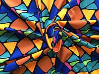 Микродайвинг Принт абстракция Оранж
