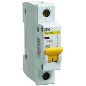 Автоматический выключатель однополюсный ВА47-29 1P 16A 4,5кА C IEK