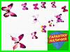 Набор 12 шт.упак. бабочки зеленные желтые для декора интерьерные наклейки в детскую комнату подарок метелики, фото 9