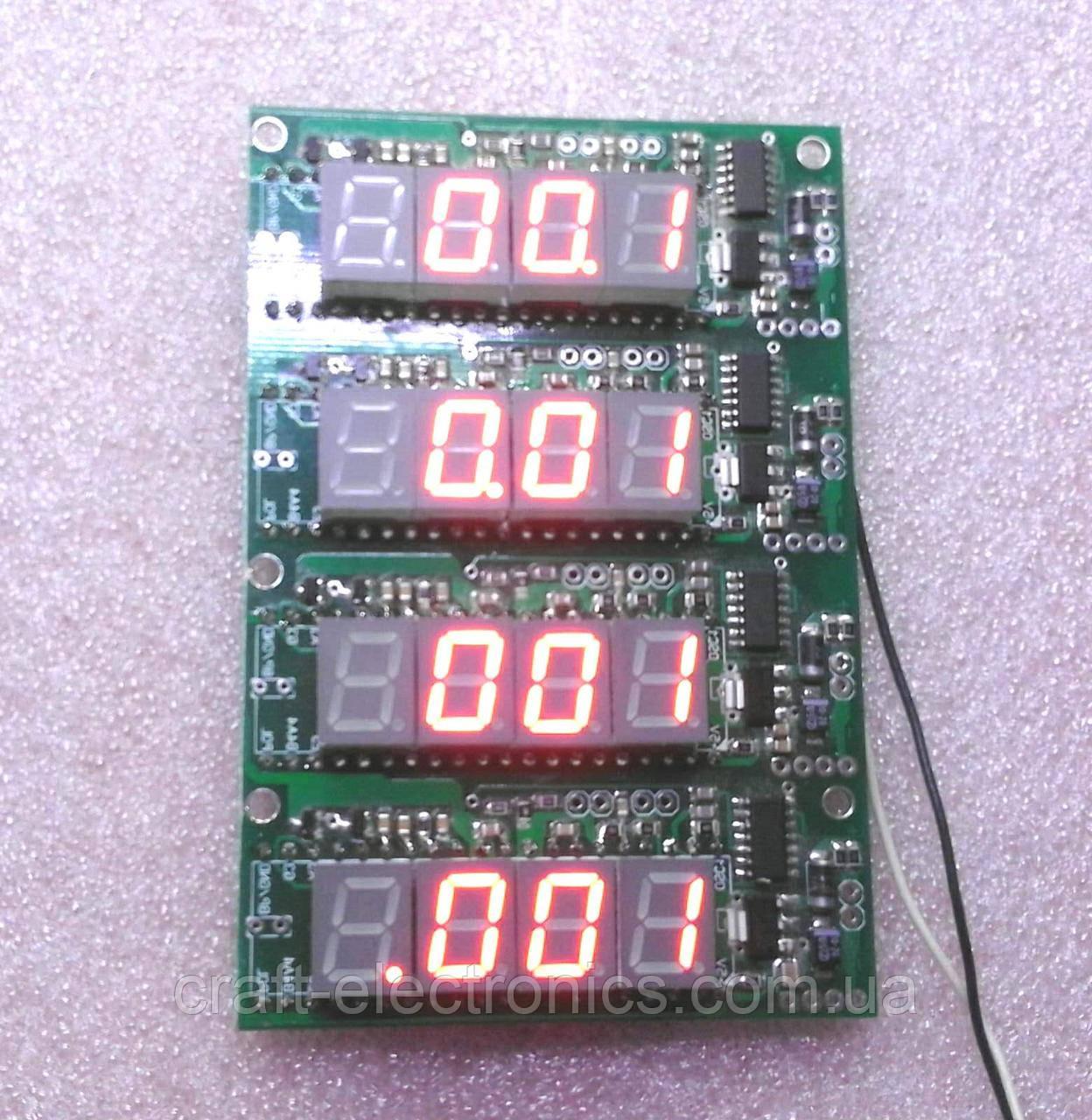 КР572ПВ2 Модуль прецизионного вольтметра на чипе КР572ПВ2