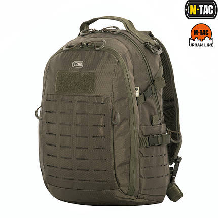 M-TAC РЮКЗАК URBAN LINE CHARGER HEXAGON PACK OLIVE, фото 2