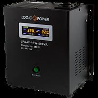 ИБП Logicpower LPA-W-PSW-500VA (350Вт) 2A/5A/10A с правильной синусоидой 12В