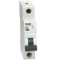 Автоматический выключатель однополюсный Viko, 1P, C, 16A, 4,5kA