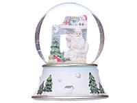 Музыкальный снежный шар Дед Мороз 191-001
