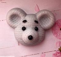 Мыло вязанная мышка
