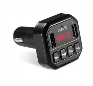 FM модулятор Havit HV-FM808BT black