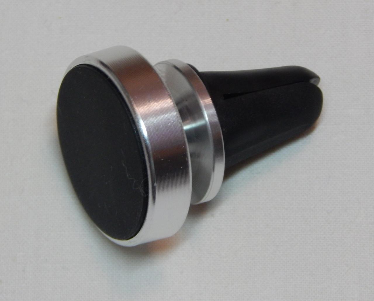 Тримач телефону магнітний ZIRY з прищіпкою, срібло