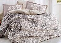 Комплект постельного белья Hobby 4717 Евро Поплин 200 х 220 см Бежевый psgSA-4717, КОД: 944287