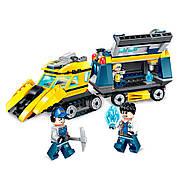 Конструктор Qman «Лабораторный фургон» Kyanite Squad 291 деталей 2406