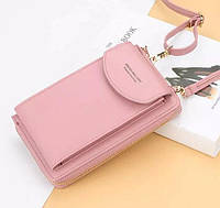 NEW! Клатч-сумочка женский Baellerry Young\Forever, цвет розовый/пудра, фото 1