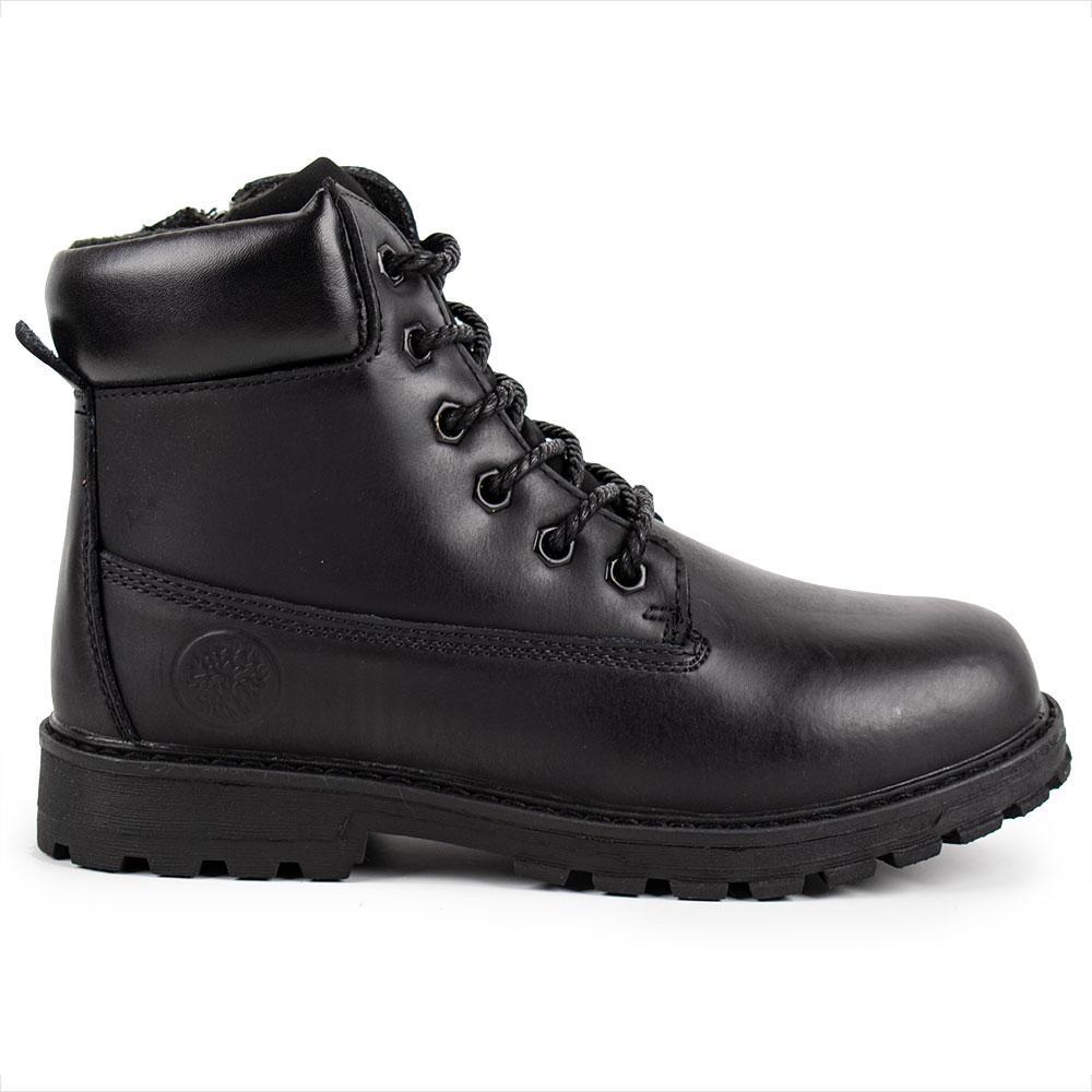 """Ботинки зимние для мальчиков """"TTOTA"""" 32  черный 980710"""