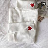 Женский Гольфик с сердечками, фото 1