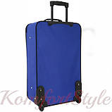 Дорожный чемодан на колесах Bonro Best маленький синий (10080202), фото 2