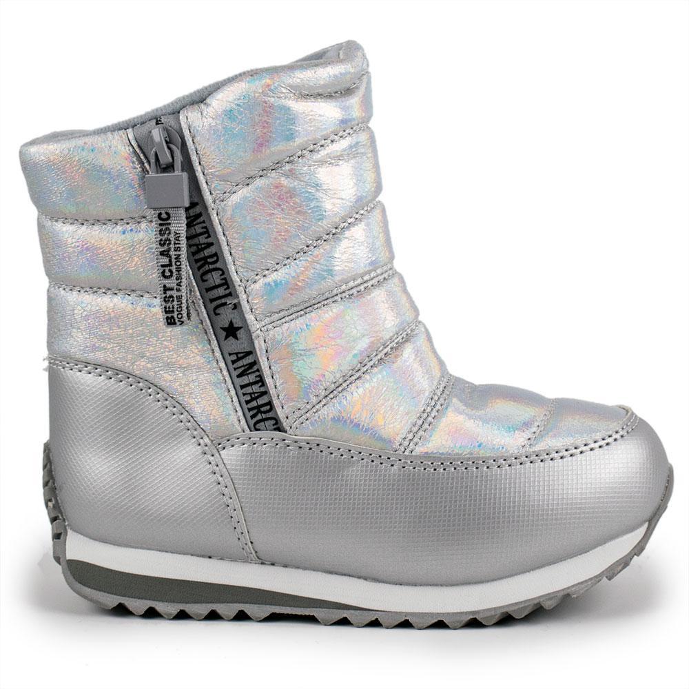 Сапоги зимние для девочек Jong Golf 25  серебро 980714