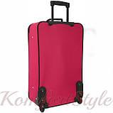 Дорожный чемодан на колесах Bonro Best средний вишневый (10080300), фото 2