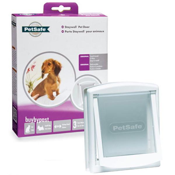 Дверцы для кошек и собак маленьких пород до 7 кг PetSafe Staywell Original 236х198 мм белые