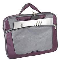 """Сумка для ноутбука 15.6"""" Sumdex PON-301PL, фиолетовая, полиэстер, 40 x 28,5 x 5 см, фото 3"""