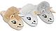 Плюшевые домашние тапочки игрушки женские 91536-ТС  Family look, фото 2