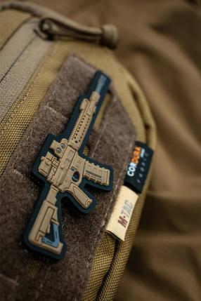 M-TAC НАШИВКА AR-15 3D ПВХ КОЙОТ, фото 2