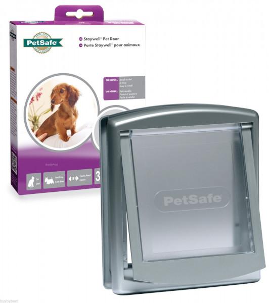 Дверцы для кошек и собак маленьких пород до 7 кг PetSafe Staywell Original 236х198 мм серые