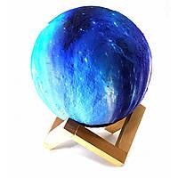 """Ночник """"луна"""" led, сенсорный переключатель цветов"""