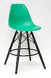 Полубарный стул Nik BK Eames, зеленый, фото 2