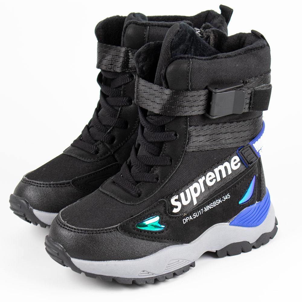 Ботинки зимние для мальчиков Bessky 27  черный 980731