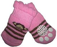 Носки для собак «Обезьянка», размер M 4 шт.