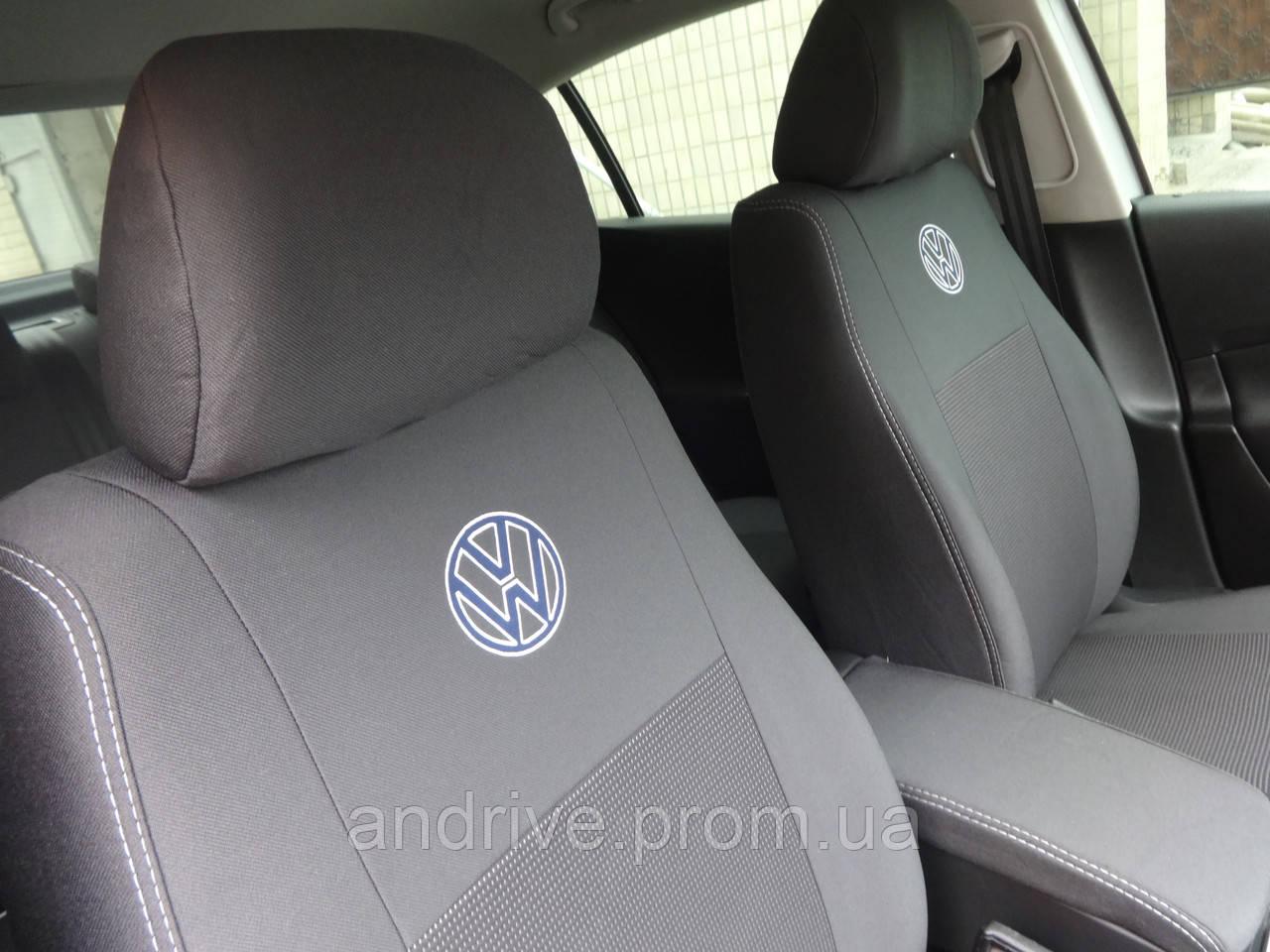 Авточехлы Volkswagen Polo IV Hatchback (раздельный диван) 2002-2005 г
