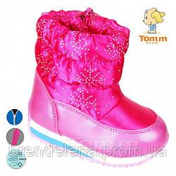 Детские зимние ботинки Tom.m на меху (р24-28)
