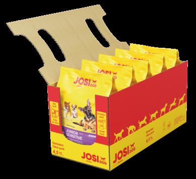 JosiDog Junior Sensitive 4.5 кг, 25/17 сухой корм для щенков с чувствительным пищеварением