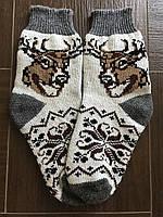 Ангоровые носки мужские