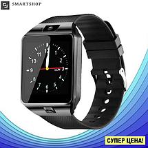 Умные часы Smart Watch DZ-09 Black - смарт часы под SIM-карту и SD карту (Черные) (s37), фото 3