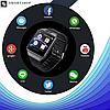 Умные часы Smart Watch DZ-09 Black - смарт часы под SIM-карту и SD карту (Черные) (s37), фото 4