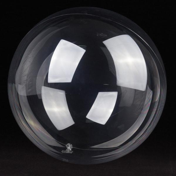"""Прозрачный шар 24"""" (60 см) bubbles, фото 1"""