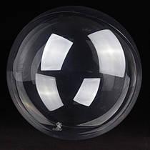 """Прозрачный шар 18"""" (45 см) bubbles"""