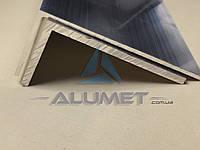Уголок алюминиевый 120х40х3.3 мм без покрытия