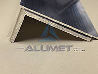 Уголок алюминиевый 120х40х3 мм без покрытия
