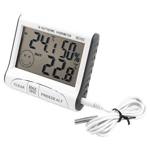 Термометр - гигрометр с выносным датчиком