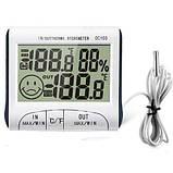 Термометр - гигрометр с выносным датчиком , фото 2