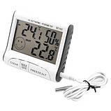Термометр - гигрометр с выносным датчиком , фото 3