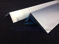 Уголок алюминиевый 160х40х3.5 мм без покрытия ПАА-3378