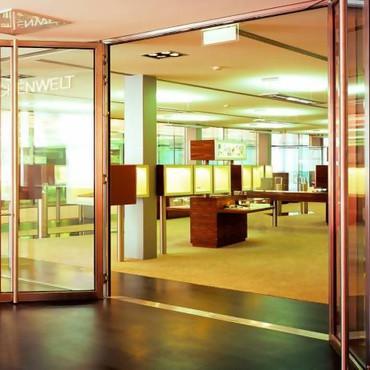 Стальные системы Schüco Jansen - Economy® E30 (G30) система стальных профилей для вертикального остекления