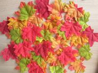 Осенние листья микс 50шт для декора и рукоделия