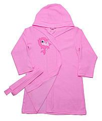 Халат для девочек Valeri-Tex 1751-20-081-006 128 см Розовый 4224, КОД: 1229310