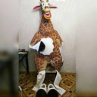 Ростовая игрушка жираф Мелман. Изготовление ростовых кукол под заказ